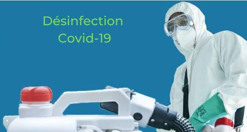 Désinfection Covid-19